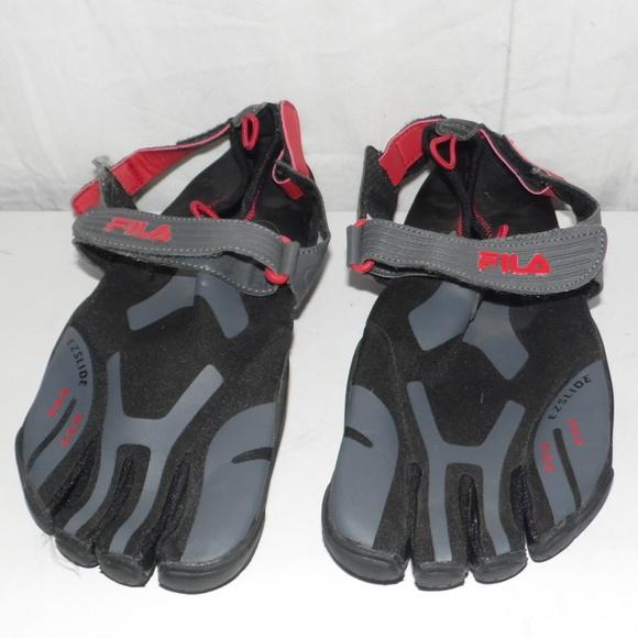 8f0d9cbaf5 Fila Other - Fila Men's Skele-toes EZ-Slide Barefoot Shoes 11